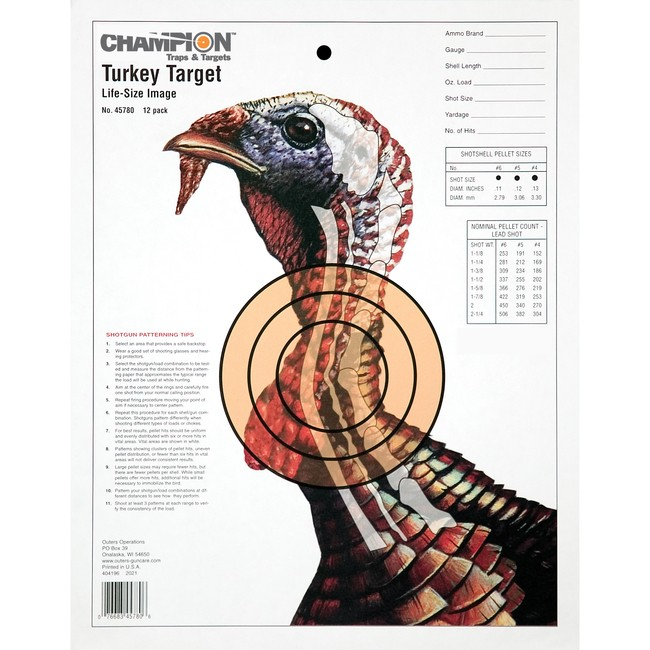 This is a graphic of Playful Free Printable Turkey Shoot Targets