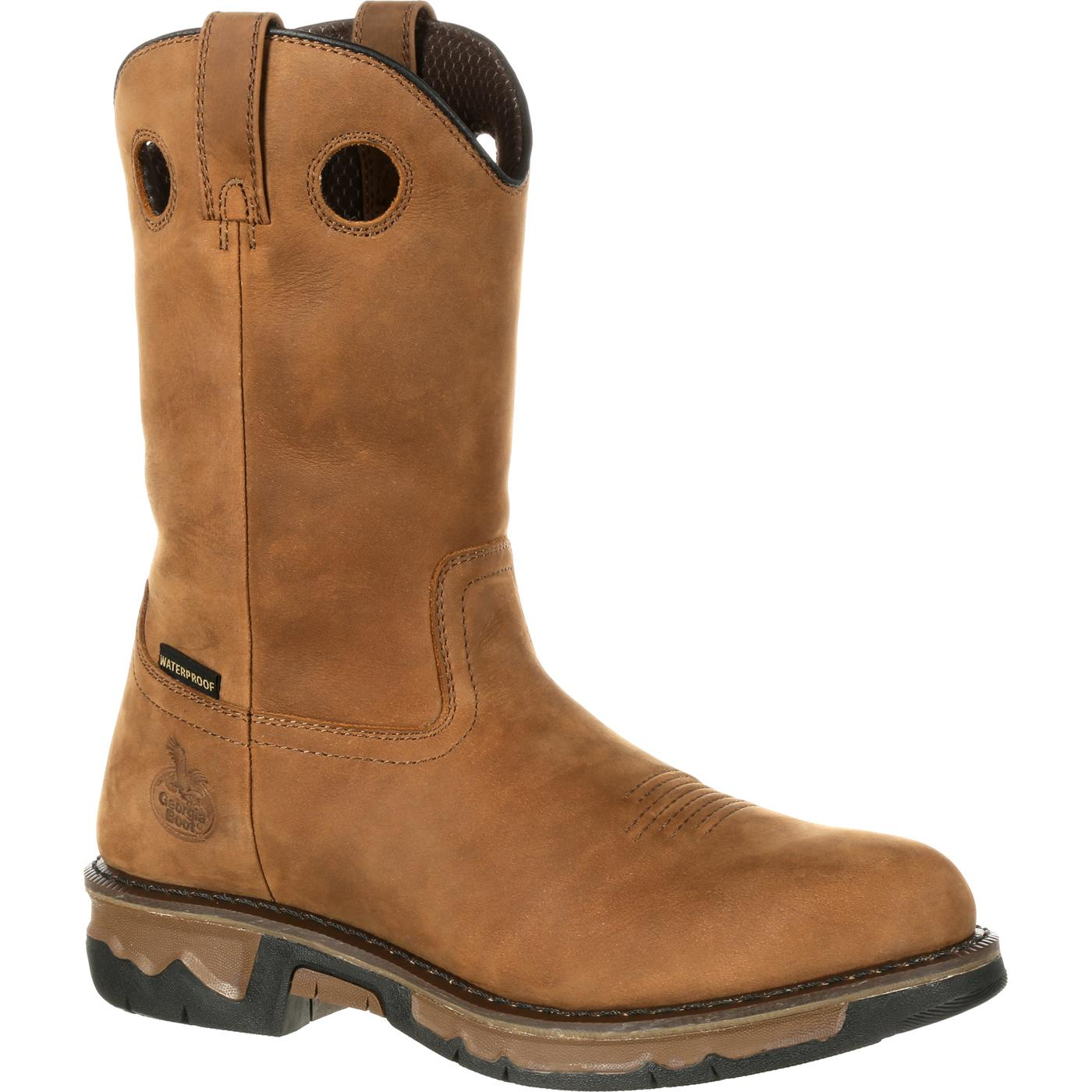 Georgia Corbo-Tec Composite Waterproof Work Willington Boot Dark Brown GB00103
