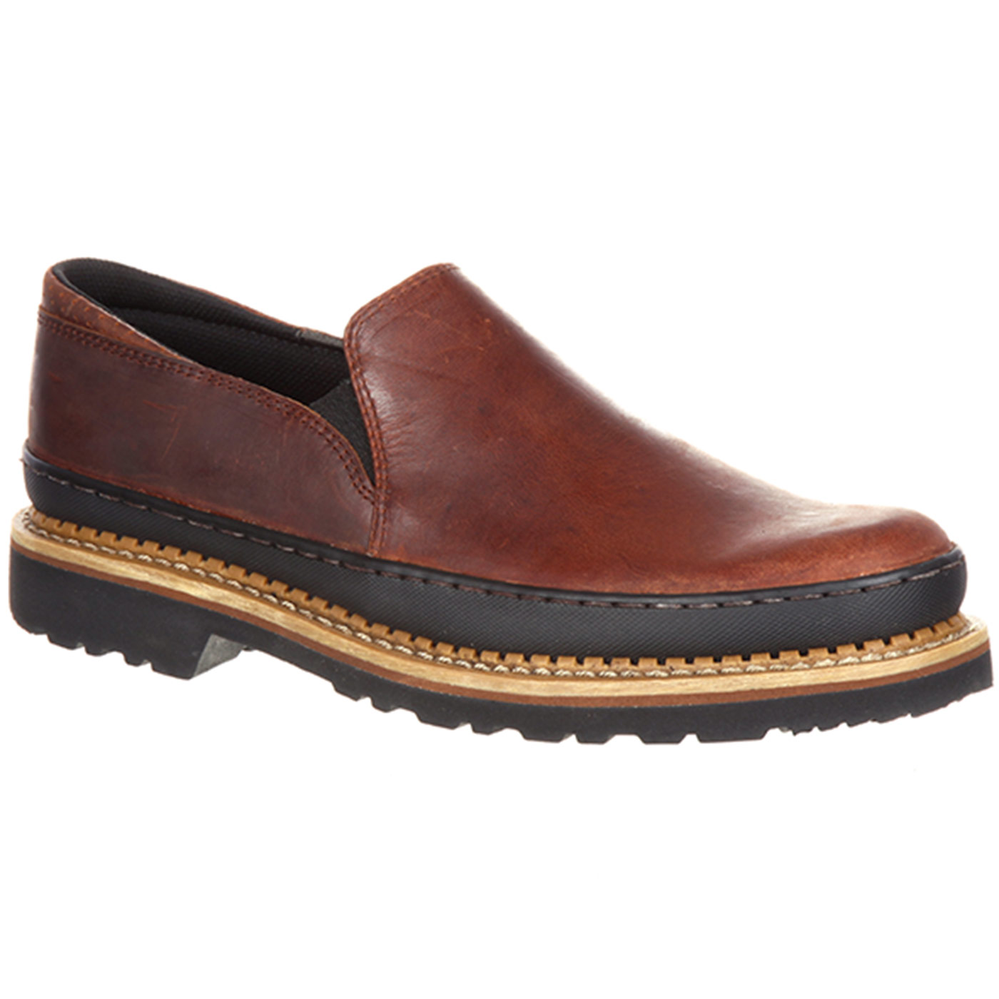 Zapato de trabajo Georgia Giant Twin Gore Marrón GB00145