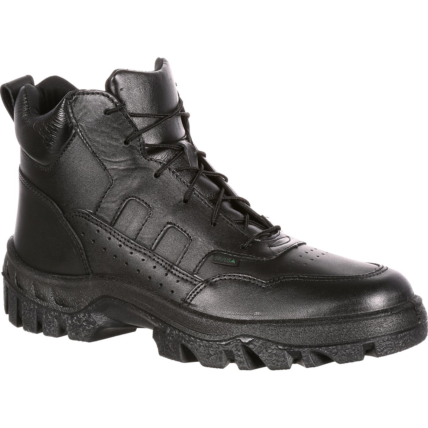 6ee33773771 Details about Rocky Men s TMC Postal Approved Sport Chukka Boots Black  FQ0005015