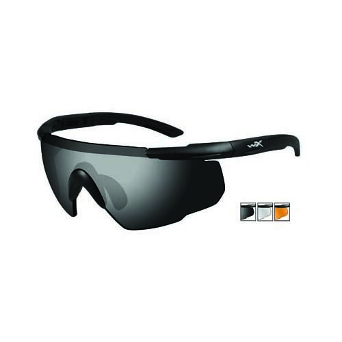 9a97e3d0e2b Details about Wiley-X Saber Advanced Matte Black Frame Sunglasses - 3 Lens  Grey Clear Rust 308
