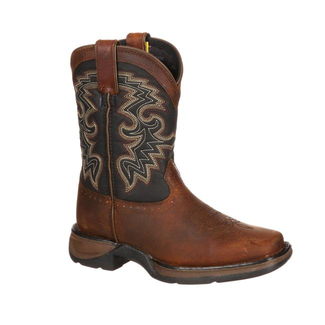 f533a222cb9 Details about Durango Lil' Youth Western Boot Medium Brown DWBT049